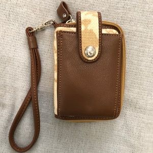Spartina 449 cell phone wallet/wristlet
